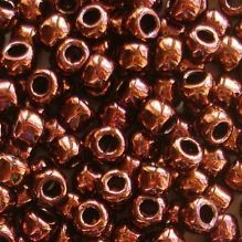 Toho 6/0 Seed Beads Dark Bronze 222 - 10 grams